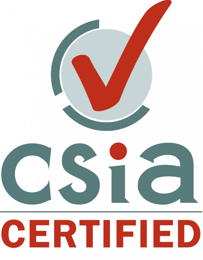 CSIA Certification vertical
