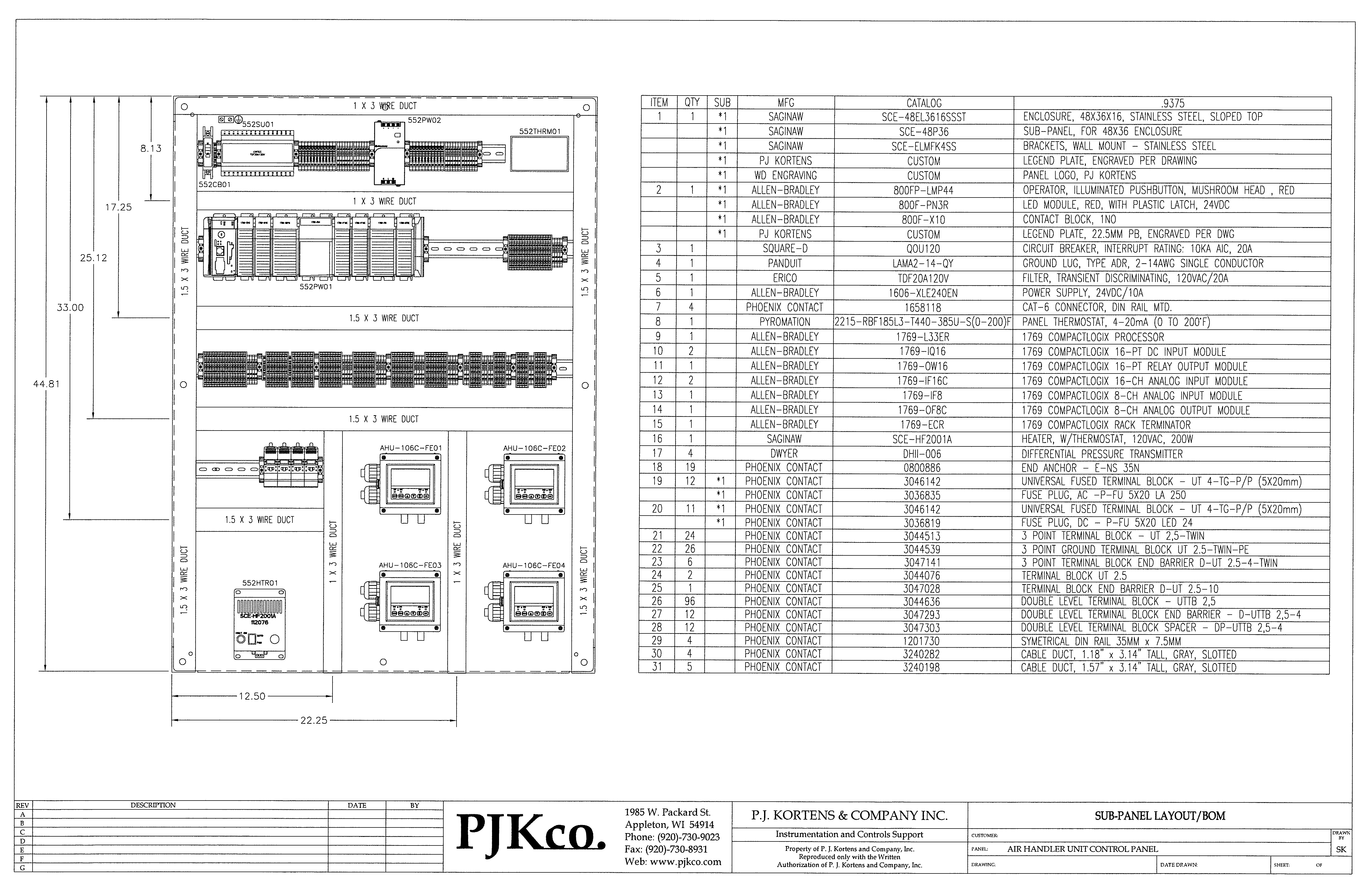 Cad Design And Drafting Pj Kortens Circuit Diagram Our Designer Has Over 20 Years Of Experience With Autocad Worked Electrical Since Its Invention This Includes Helping Fox Valley